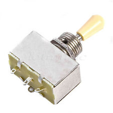 Chrome Box 3 WAY Toggle Pickup Select Switch For Fender Guitar replacement