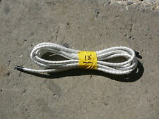 """White/Black Nylon Coated Rubber Rope Shock Cord 3/8"""" X 13' Discounted Bungee"""