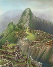 No. 14 Machu Pichu Golf Club  Hand Signed BY LOYAL H. CHAPMAN
