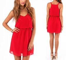 Vestito Mini Copricostume Donna Chiffon Woman Mini Dress CHE002 P
