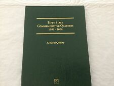 1999-2008 COMPLETE SET OF UNC WASHINGTON STATE QUARTERS ALBUM - 50 QTRS