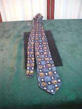 Irvine Park 100% Silk Multi-Colored Decorative Designed Neck Tie-Free Shipping