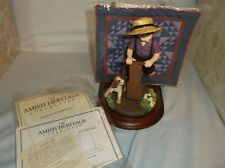 "Willitts Amish Heritage ""Aaron And Caleb"" Limited Edition #30017 1993"