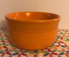 Fiestaware Tangerine Gusto Bowl Fiesta 28 oz Retired Orange Bowl