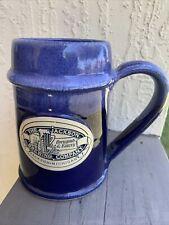 Handmade The Jackson Brewing Company Jackson, Michigan Pottery Beer Mug Stein