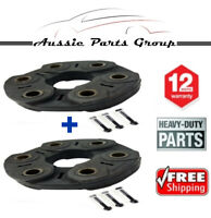 2 x Tailshaft Rubber Coupling For Holden Commodore VX VY VT VU 3.8L V6