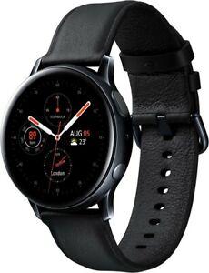 Samsung Galaxy Watch Active 2 (40mm) - Stainless Steel - schwarz - Smartwatch