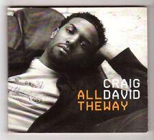 (HB125) Craig David, All The Way - 2005 DJ CD
