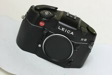 Leica R8 35mm SLR Film Camera Body Only BLACK SUPERB