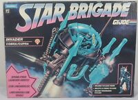 HASBRO VTG 1993 GI JOE STAR BRIGADE INVADER EUROPEAN PAYLOAD DRIVER MISB SEALED