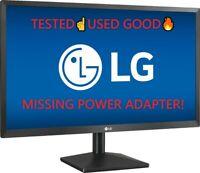 "LG - 24"" IPS LED FHD FreeSync Monitor BLACK 24ML44B Used☝"