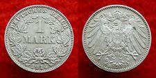 Germany / Empire - 1 Mark 1914 J ~ silver