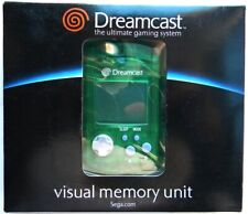 VISUAL MEMORY UNIT VMU DREAMCAST OFFICIAL ORIGINALE NEW NUOVO GREEN VERDE