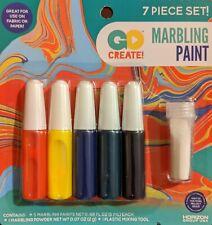 Marbling Paint Set Fabric Paper Kids Art Crafts Children's Home School Activity
