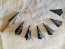 Vintage Broadhead Hill's Hornet 3 different sizes! 7 total