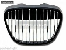 SEAT IBIZA CORDOBA 6L 02-09 BLACK SPORT BADGELESS FRONT GRILL GRILLE DEBADGED RS