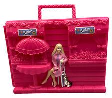 Barbie Doll Trunk Terrace Flowers Puppy Dog Carry Case Mattel Tara 1999 VINTAGE