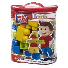 Mega Bloks 24 Piece Build'n Create Blocks New
