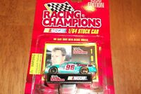 STEVIE REEVES AUTOGRAPHED #96 CLABBER GIRL RACING CHAMPIONS 1:64 SCALE  (1)