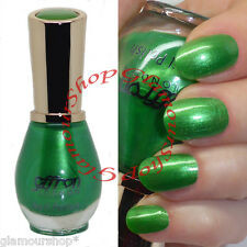 Emerald GREEN Nail Polish Varnish by Saffron London #30