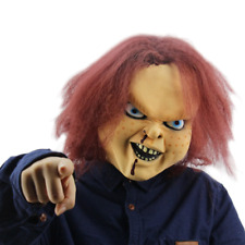 Halloween Scary Horror Chucky Doll Mask Adult Costume Party Costumes Cosplay