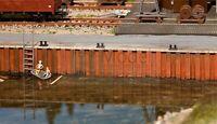 FALLER 131012 - Banchina con muro per porti. Scala H0