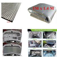 1x1.4m Heat Shield Mat Car SUV Turbo Exhaust Muffler Insulation Hood Cotton Pad