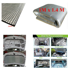 1x1.4m Heat Shield Mat Car SUV Turbo Exhaust Muffler Insulation Hood Cotton Pad