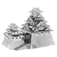 Fascinations ICONX OSAKA CASTLE 3D Laser Cut Steel Metal Earth Model Kit ICX109