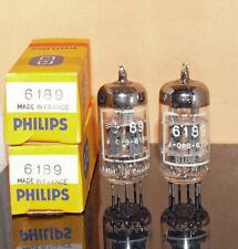 2 neue Philips 6189 = ECC82 ECC802s Röhren (201005)