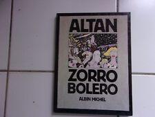 bd Altan ZORRO BOLERO (édition originale Albin Michel 1989)