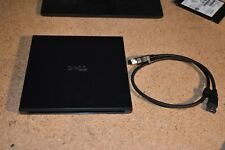 Dell PD02S External Optical Drive DVD/CD Enclosure Caddy With eSATA eSATAp cable