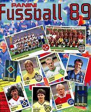 Panini Fussball 89 - Freie Wahl von 10 Einzelbildern !