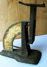 SUPERIOR POSTAL SCALE. ANTIQUE 4LBS. MAX. WORKS GREAT! WARRANTED ACCURATE.