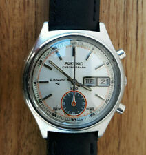 VINTAGE AUTOMATIC WRISTWATCH SEIKO FLYBACK CHRONOGRAPH DAY DATE 7016-8001