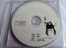 """UTE LEMPER - FRANCE PROMO SINGLE CD """"AVEC TOI"""" - LIKE NEW"""