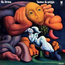 LE ORME - UOMO DI PEZZA - REISSUE LP BLUE VINYL 2015 NEW SEALED