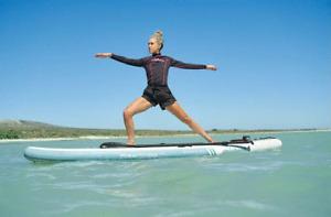Mistral Yoga Stand up Paddleboard SUP-Board Wassersport SUP Joga