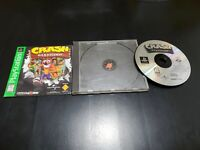 Crash Bandicoot Greatest Hits (Sony PlayStation 1, 1996) COMPLETE! TESTED!
