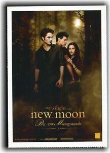 TWILIGHT 2 ♦ NEW MOON ♦ BISS ZUR MITTAGSSTUNDE ♦ 2009 ♦ CINEMA Filmkarte Karte
