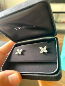 Tiffany Victoria Earring Large Brand New