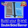4 x 8 DOUBLE SIDED PRINT 15 oz FULL COLOR CUSTOM BANNER***FREE SHIPPING****
