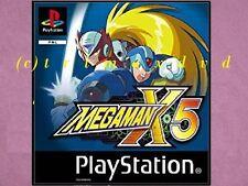 Ps1 _ Megaman x5 _ CD DANS LE TOP-état _ sur 1000 autres jeux en boutique