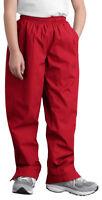 Sport-Tek Youth Lightweight Zipper Elastic Waist Winter Sweatpant. YPST74