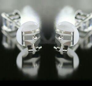 4 x Lox Locking Earring Backs Butterfly Fittings Secure Anti-Allergy Silver Tone