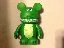"Rex Dinosaur Toy STORY 1 Disney VINYLMATION 3"" Figure Vinyl WDW Authentic w Card"
