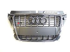 Original Audi A3 S3 8P Kühlergrill Frontgrill Platiniumgrau Grau 8P0853651R 1RR