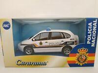 1/43 RENAULT SCENIC RX4 POLICIA NACIONAL CARARAMA COCHE METAL A ESCALA DIECAST