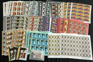 Guinea Africa Religion Sport Trains Art Royal Sheets MNH (Appx 800 Stamps)(Guxyz