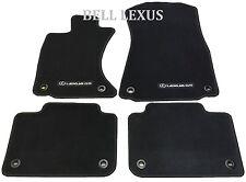 NEW LEXUS OEM FACTORY CARPET FLOOR MAT SET 2013-2017 GS350 GS450H AWD BLACK